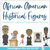 Black History Month: Listening Comprehension and Vocabulary Activities