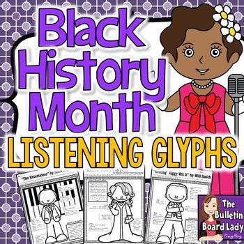 Listening Glyphs Black History Month