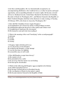 Black History Month Literacy 2 part bundle pack