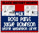 Black History Month Common Core Literacy Unit
