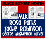 Black History Month Common Core Literacy Unit