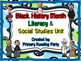 Black History Month Literacy & Social Studies Unit