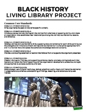 Black History Month Living Library Project (Distance Learning)