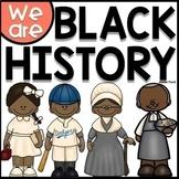 Black History Month Activities  - Ruby Bridges, GWC, Jacki