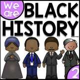 Black History Month Activities Bundle - Harriet Tubman, Ob