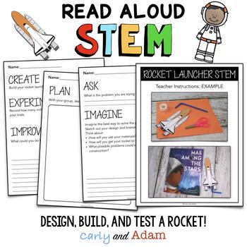 Mae Jemison Build a Rocket STEM Activity