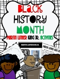 Black History Month: Martin Luther King Activities