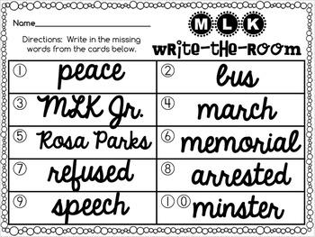 Black History Month, Martin Luther King Jr, Rosa Parks