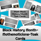 Black History Month- Mathematicians-Task Cards   Bell Ring