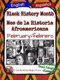 Black History Month/Mes de la Historia Afroamericana