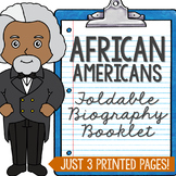 African Americans History Mini Book, Civil Rights, Black History Month