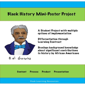 Black History Month Mini-Poster Project