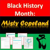 Black History Month - Misty Copeland
