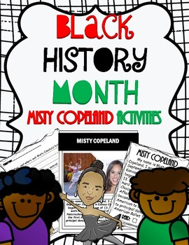 Black History Month: Misty Copeland Activities