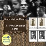 Black History Month Set 1 -  Reading Cards