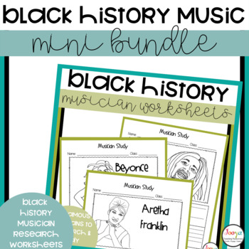 Black History Month Music Bundle