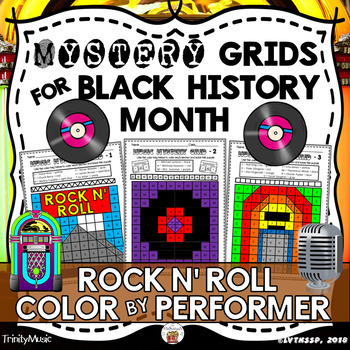 Rock and Roll Mystery Grids (African-American Music Performer Edition)