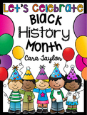 Black History Month No Prep Printables - Kindergarten Math and Literacy