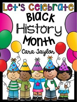 Black History Month No Prep Printables - Kindergarten Math