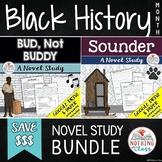Bud Not Buddy and Sounder Novel Study Unit Bundle: Black History Month