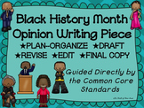 Black History Month Opinion--Persuasive Writing Piece Pack