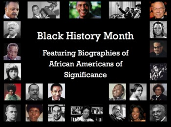 Black History Month PPT