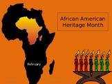 Black History Month PPT