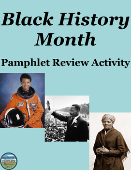 Black History Month Pamphlet Activity