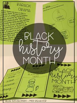 Black History Month - Pamphlet/Brochure