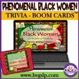 Black History Month Phenomenal Women BOOM CARDS NO PRINT - Teletherapy