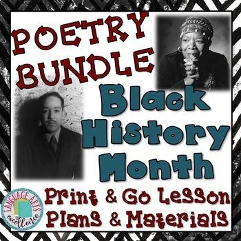 Black History Month Poetry {{BUNDLE}}