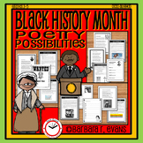 BLACK HISTORY MONTH Poetry Unit   History   Poetry Elements   Writing
