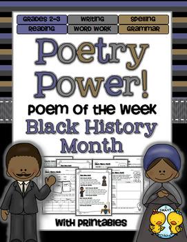 Poem of the Week: Black History Month Poetry Power!