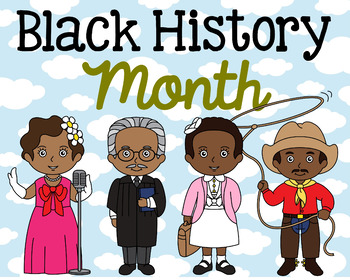 Black History Month Poster, Class Decor, Holiday Sign, Bulletin Board
