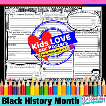 Black History Month Activity Poster