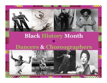 Black History Month Posters ~ Dancers