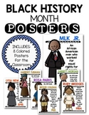Black History Month Posters for Kindergarten & First Grade Social Studies