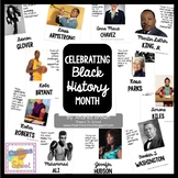 Black History Month Posters of Inspirational People and Quotes