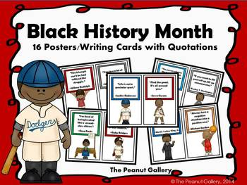 Black History Month Posters/Writing Cards