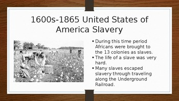Black History Month Power point