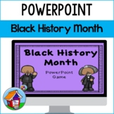 Black History Month PowerPoint Game -- Distance Learning