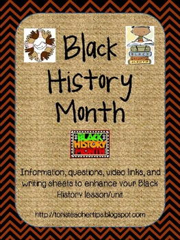 Black History Month~ PowerPoint and Activities