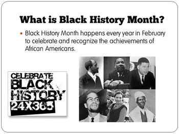 Black History Month Powerpoint