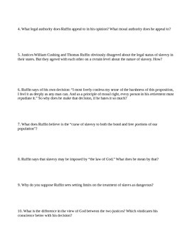 Black History Month Primary Source Readings Packet