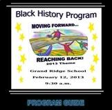 Black History Month Program (EDITABLE/Template #3)