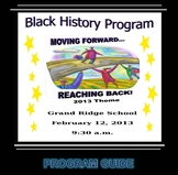 Black History Month Program #3  (EDITABLE)