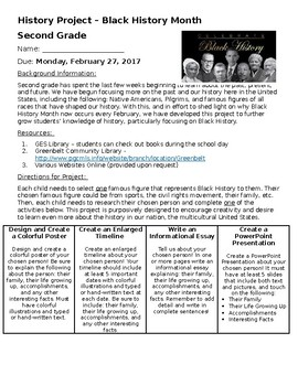 Black History Month Project