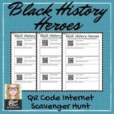 "Black History Month QR CODE ""Black History Heroes""- scaven"