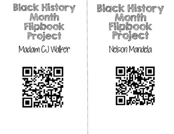 Black History Month QR Codes