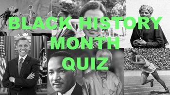 Black History Month Quiz